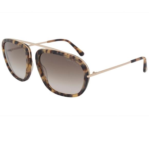 30198146a4 Tom Ford Sunglasses Light Havana Brown Gold